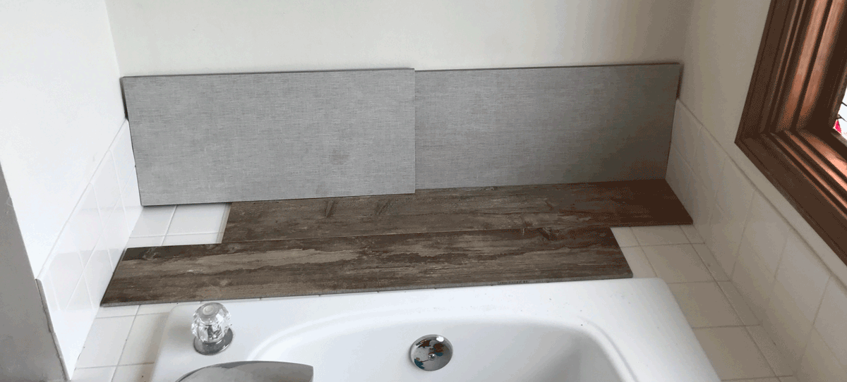 choosing tiles for master bathroom renovation