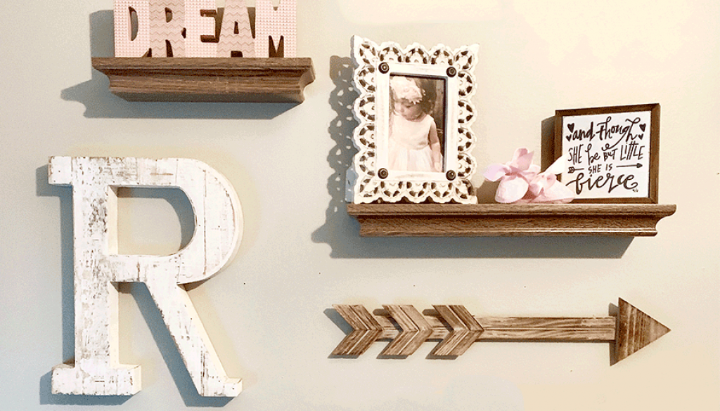 Decorating a Baby Girl\'s Nursery - The Shady Gal
