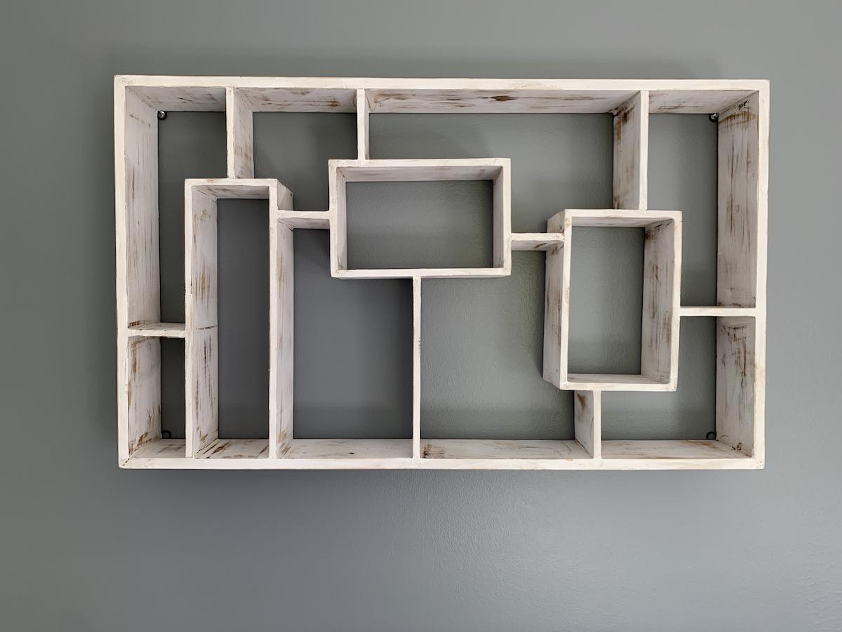 vertical shelf for herbs