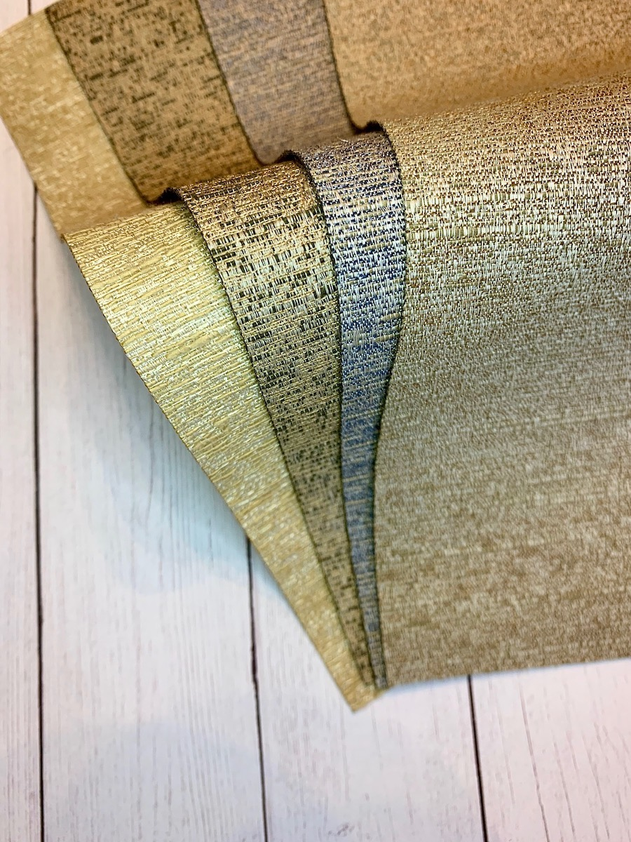 fabric swatches from Hunter Douglas Drake collection of roman shades