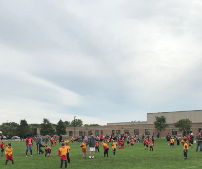 batavia youth football saturday morning games