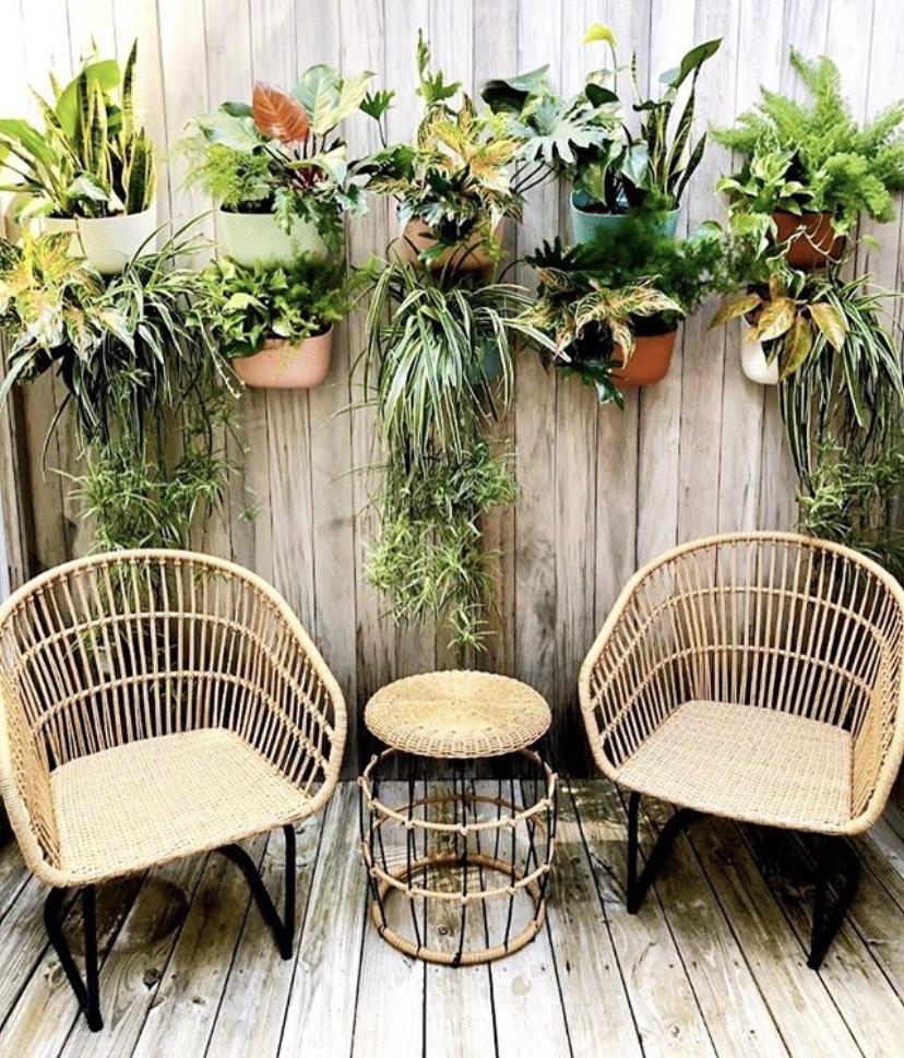 vertical garden with fait.nola wall planters