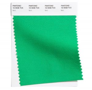 mint green swatch pantone palette