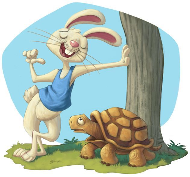 tortoise and hare fable