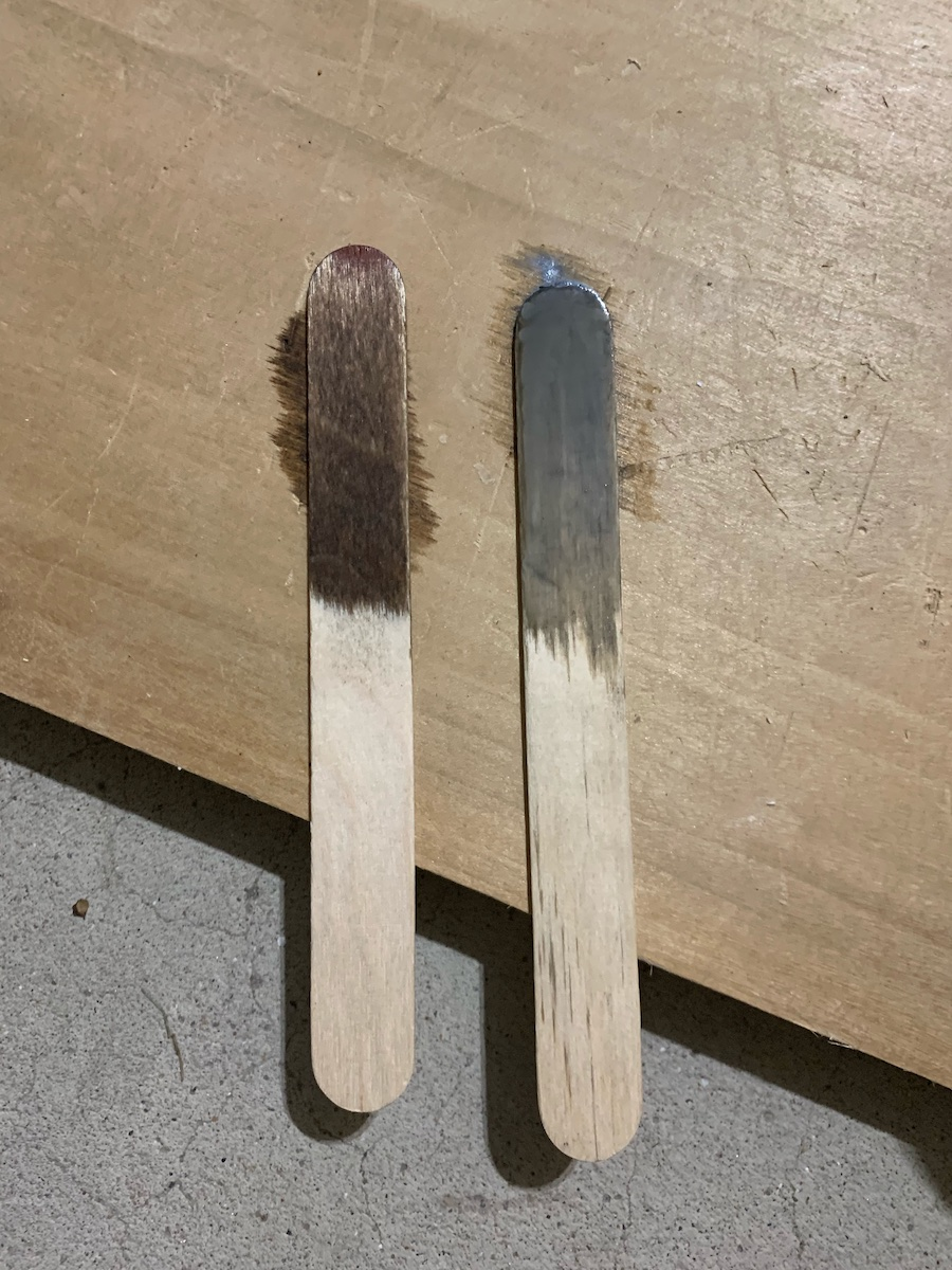 Early American & Weathered Oak stain sticks
