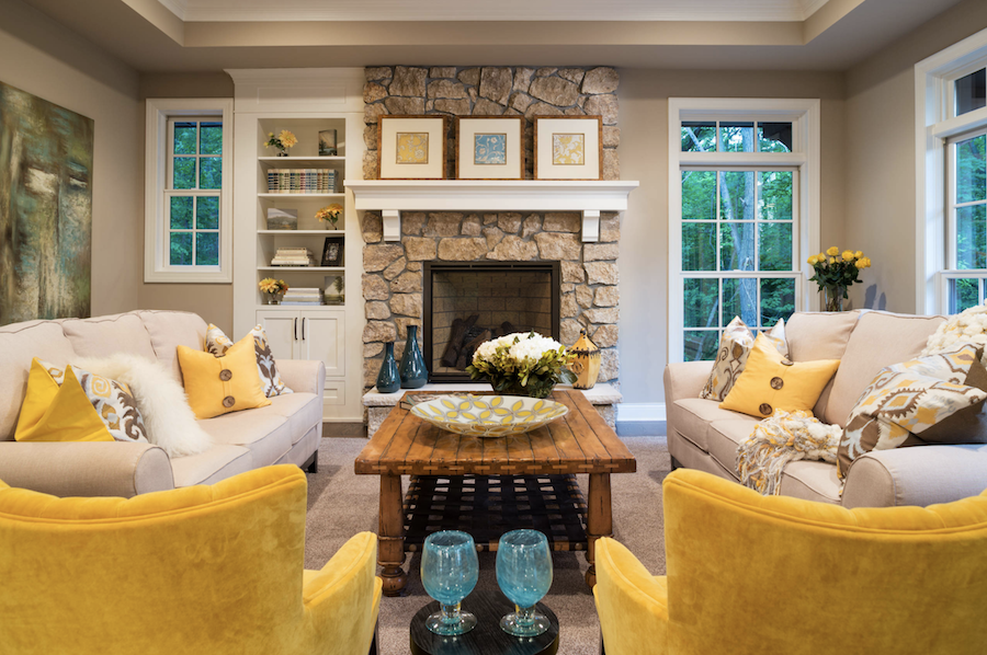 illuminating color of the year accent furniture