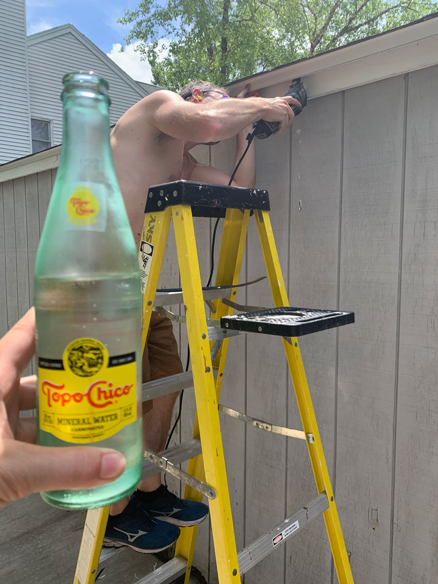 topo chico on a hot day