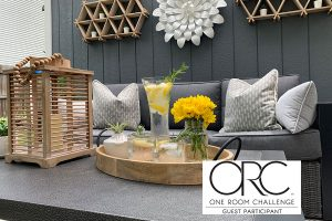revealing the backyard makeover with patio and yard