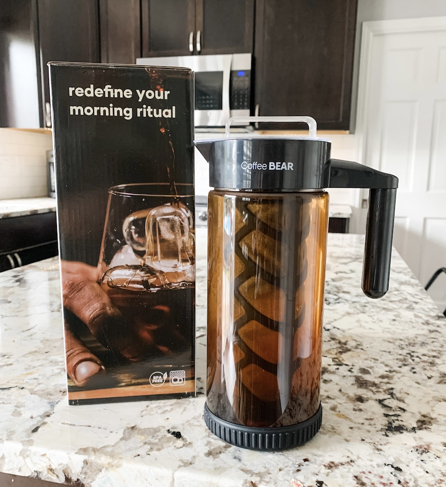cold brew coffee maker from coffee bear