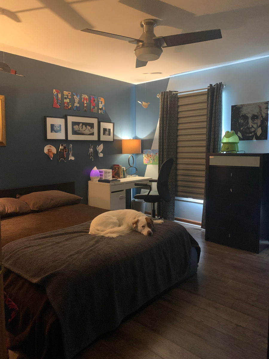 boys bedroom before makeover for one room challenge fall 2021