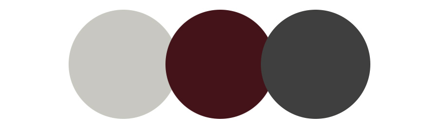 color palette for one room challenge fall 2021 red black gray