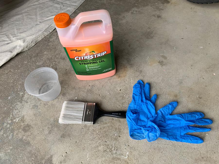 materials for dresser makeover