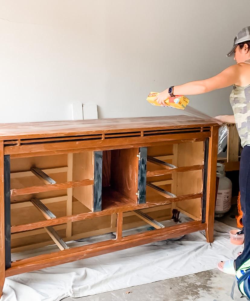 renovating an old dresser